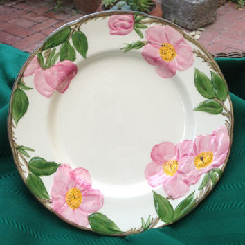 Vintage Dinner Plate, Franciscan, Desert Rose Pattern, Favorite Pattern, Spring, Farmhouse Decor, Cottage Style, Vintage Gift, Home Decor, C