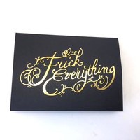 Gold Foil Greeting Cards
