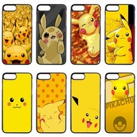 cute kawaii anime s pikachus cover case For ipod touch iPhone 4 4s 5 5s 5c SE 6 6s plus 7 7plus 8 8plus X phone caseKawaii Pokemon go  AT_89_9