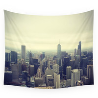 Society6 Signature Chicago Wall Tapestry