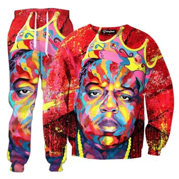 Biggie Face Paint Tracksuit