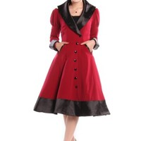 Red Veronica Coat