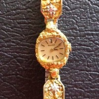 Women's Bulova Alaska Gold Nugget Watch