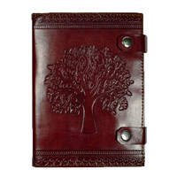 Tree of Life Journal with Leather Cover