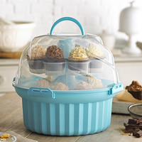 Carousel Cupcake Caddy in cake storage at Lakeland