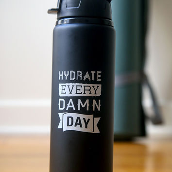 HYDRATE Water Bottle | Thug Kitchen Merch