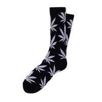 HUF - GLOW IN THE DARK PLANTLIFE SOCKS FALL14 // BLACK GLOW