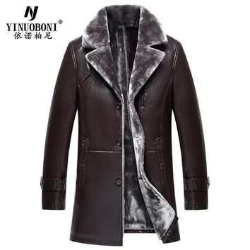 Big and Tall Mens Fur Lined Leather Jackets