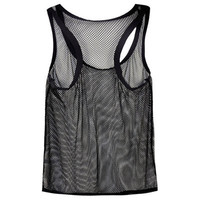 Men's Vest Large mesh breathable sexy camisole tank top undershirt  clothes men tank top sleeveless shirts singlet fitness