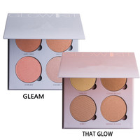 Beverly Hills Glow Kit Palette make up 4 Colors Makeup Blusher Bronzer &Highlighter &Blush naked cosmetics