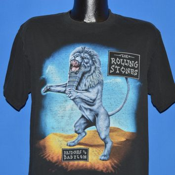 90s Rolling Stones Bridges Of Babylon Tour t-shirt Large