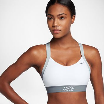 Nike Indy Logo Back Women's Light Support Sports Bra. Nike.com