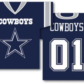 ESBON NFL Dallas Cowboys Jersey Banner 34' x 30' - 2-Sided
