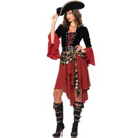 Pirates of the Caribbean costumes,female pirate cosplay, halloween costume for women