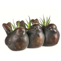SheilaShrubs.com: Trio of Birds Planter 845163 by Evergreen Enterprises: Planters