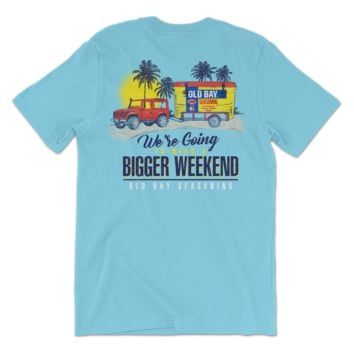 We're Going To Need A Bigger Weekend Old Bay Cooler (Lagoon Blue) / Shirt