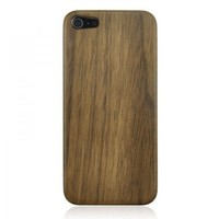 Silicon Frame Walnut Wood iPhone 5 Case