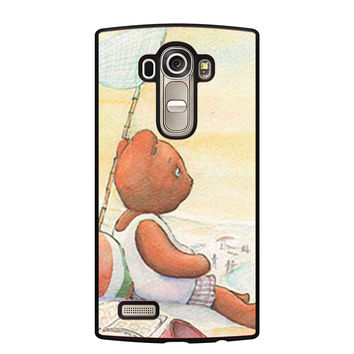 Little Teddy Bear in Beach Art LG G4 Case