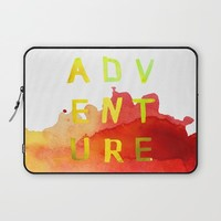 A D V E N T U R E Laptop Sleeve by Sara Eshak