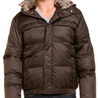 "Some of you have to get in on this: Marc New York ""Arctic"" Espresso Down Jacket"