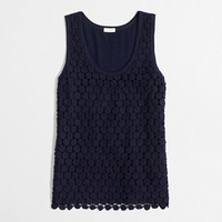 Factory tiered lace tank - tanks & camis - FactoryWomen's Knits & Tees - J.Crew Factory