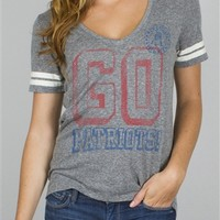 Tailgate Tee Women's NFL Patriots Shirt | New England Patriot Shirts