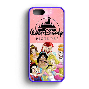 Disney Princess Funny Character  iPhone 5 Case iPhone 5s Case iPhone 5c Case
