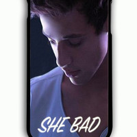 iPhone 6 Plus Case - Rubber (TPU) Cover with Cameron Dallas She Bad To Number One Rubber Case Design