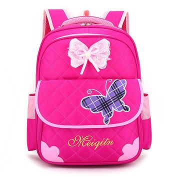 2018 Cute Children School Bags For Girls Backpack Kids Book Bag Girl Schoolbag Satchel Gift Shoulder Bags Mochila Infantil Zip