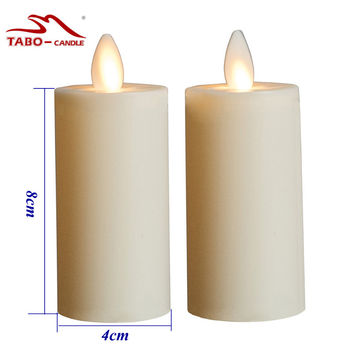 Moving Wick Flameless Votive Candle