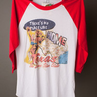 """Gina """"There's No Place Like Home Texas"""" Tee"""