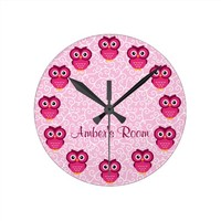 Pink Owl Personalized