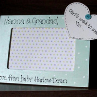 Personalised Baby Scan Photo Frame gift  for giving to family members
