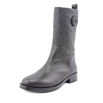 Tory Burch Marion Mestico Tumbled Leather Booties