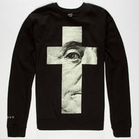 Famous Stars & Straps Almighty Mens Sweatshirt Black  In Sizes