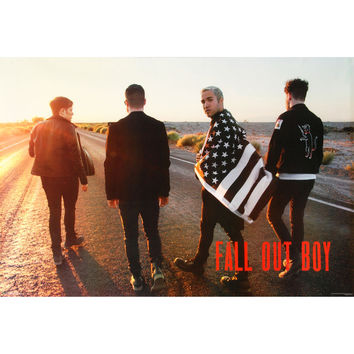 Fall Out Boy - Domestic Poster