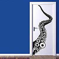 Wall Decal Vinyl Sticker Decals Art Decor Octopus Sprut Poulpe Delfish Tentacles Deep Sea Jellyfish Bedroom Dorm Nursery (r378)
