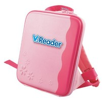 VTech - V.Reader Animated E-Book System - Storage Tote - Pink