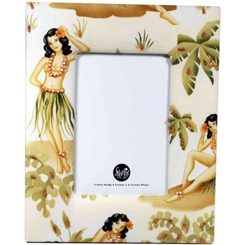 Hula Girl - Photo Frame
