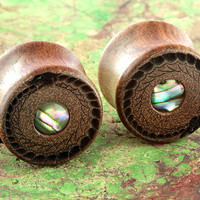 Chechen wood Unity plugs