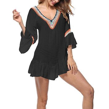 Womens Beach Cover Up/Yoga Tunic