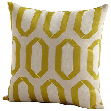 Cyan Design Lime Light Pillow - 06517