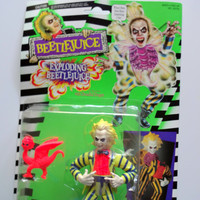 Vintage Beetlejuice Action Figure NEW 1989