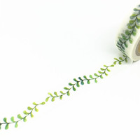 Washi Tape Beautiful Washi Tape Leaf Washi Tape by PokemonGarden