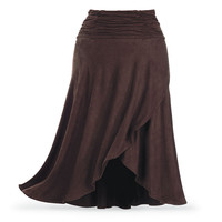 Ruched Riding Skirt - Women's Clothing & Symbolic Jewelry – Sexy, Fantasy, Romantic Fashions