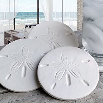Drink Coasters, Sand Dollar Coasters, Coasters, Absorbent Coasters, Beach House, Hostess Gifts, Nautical Decor, Home Decor, Tableware, Barware