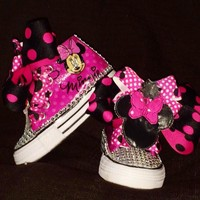 Personalized MINNIE MOUSE birthday shoe