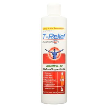 T-relief Pain Relief Gel - Arnica - 8.75 Oz