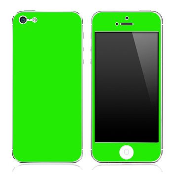 Lime Green skin for the iPhone 3g,3gs,4/4s or 5