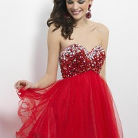 Homecoming dresses by Blush Prom Homecoming Style 9682